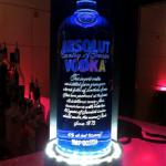 Vodka Absolut at Blue Gin
