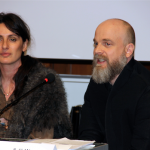 Francesca Cella (Direttore Generale White) e Alan (Designer Barbara Alan)