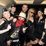 PHILIPP PLEIN, PARIS HILTON AND ALEC MONOPOLY