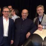 Paolo Foglizzo, Alberto Vignatelli e Chris Bangle