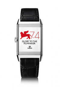 Jaeger-LeCoultre Reverso engraved watch_Glory to the Filmmaker 2017
