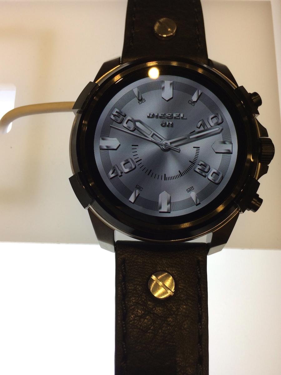 Diesel's Touchscreen Smartwatch 01