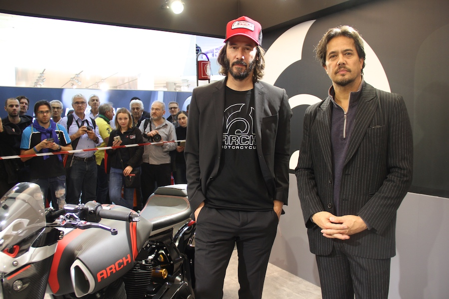 Keanu Reeves and Gard Hollinger 2