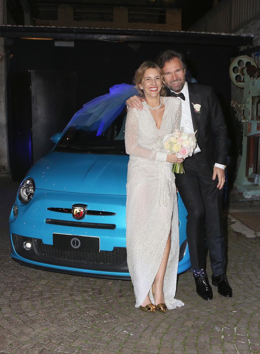 Carlo Cracco e Rosa Fanti