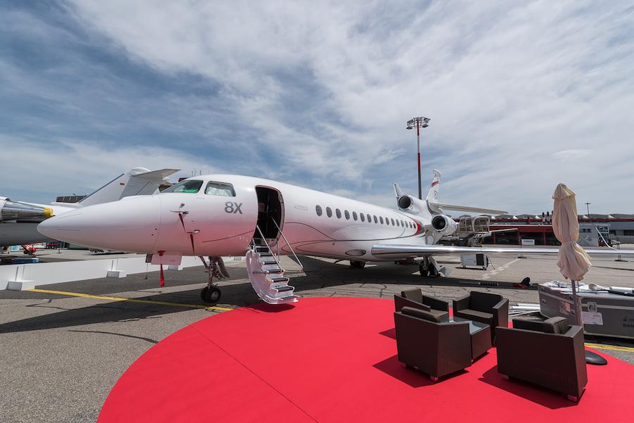 Dassault Falcon8X F-HVIP