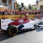 Alfa Sauber e Formula_1_Milan_Festival