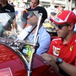 Sebastian Vettel su Alfa Romeo
