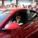 Alfa Giulia e Charles Leclerc