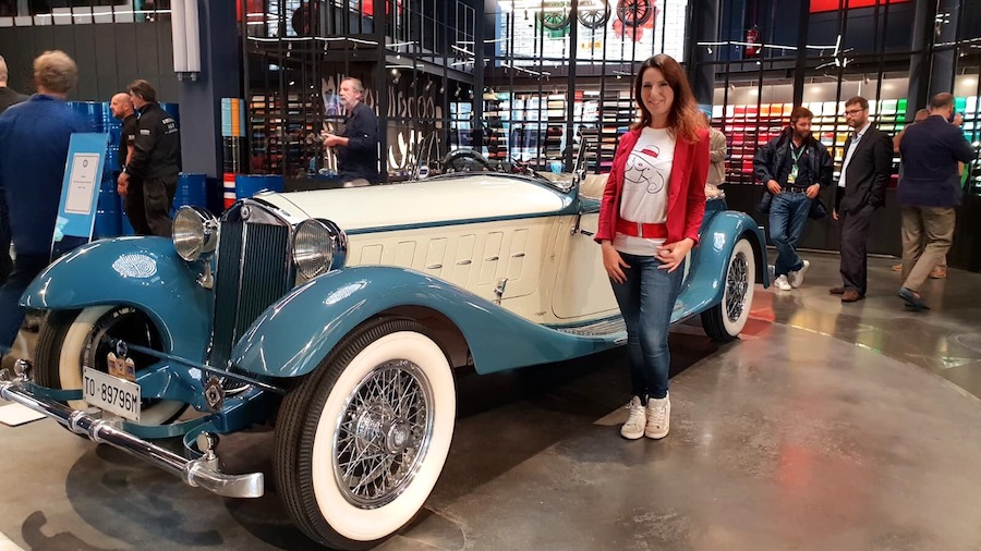 Dolcissimame e Lancia Astura Double Phaeton 1933