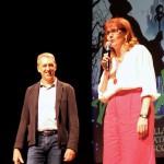 Raffaele Latagliata e Mari Malaguti
