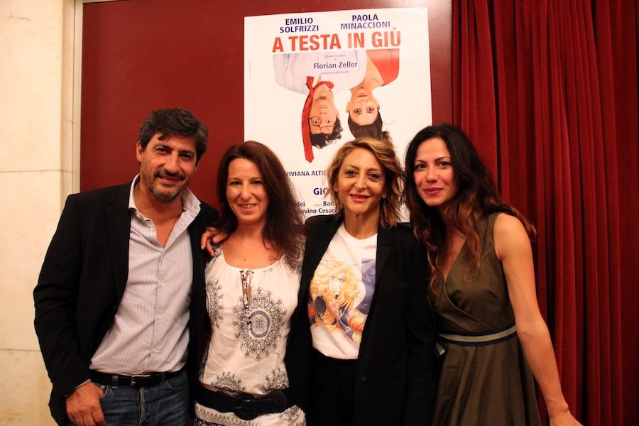 Emilio Solfrizzi, Dolcissimame, Paola Minaccioni e Viviana Altieri