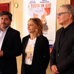 Emilio Solfrizzi, Paola Minaccioni e Gioele Dix 01
