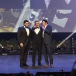 Ezio Greggio, Salvatore Esposito e Michael Madsen