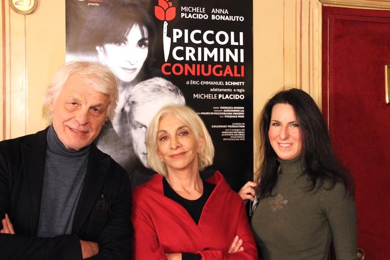 Michele Placido, Anna Bonaiuto e Dolcissimame