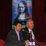 Vittorio Sgarbi e Vittorio Corvino
