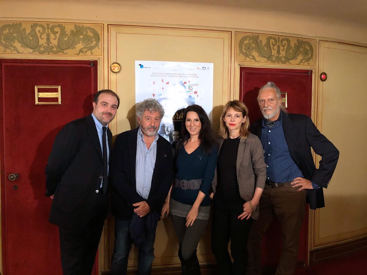 Filippo Dini, Antonio Catania, Dolcissimame, Barbara Bobulova, Gigio Alberti