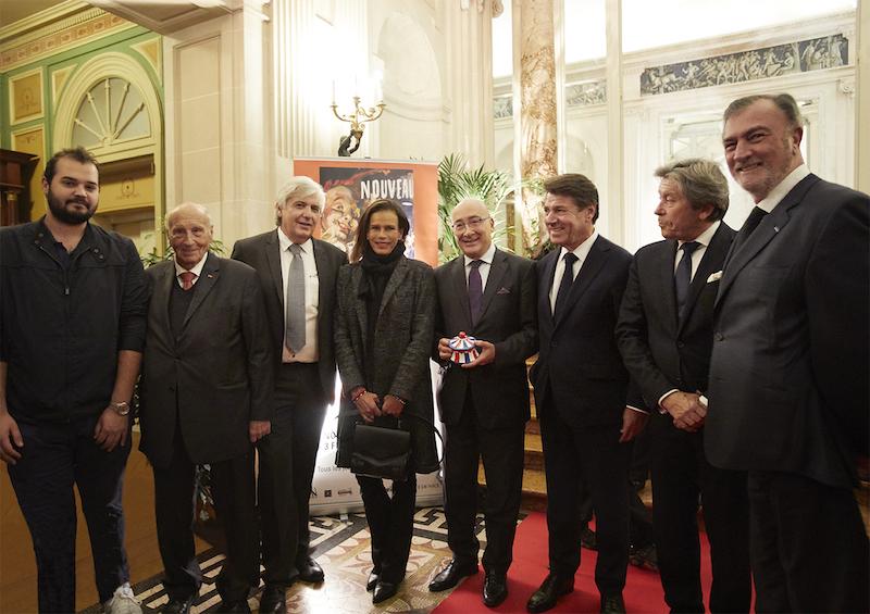 Jean Pierre Barbero, Principessa Stephanie di Monaco, Cristiano Gallo, Christian Estrosi 01