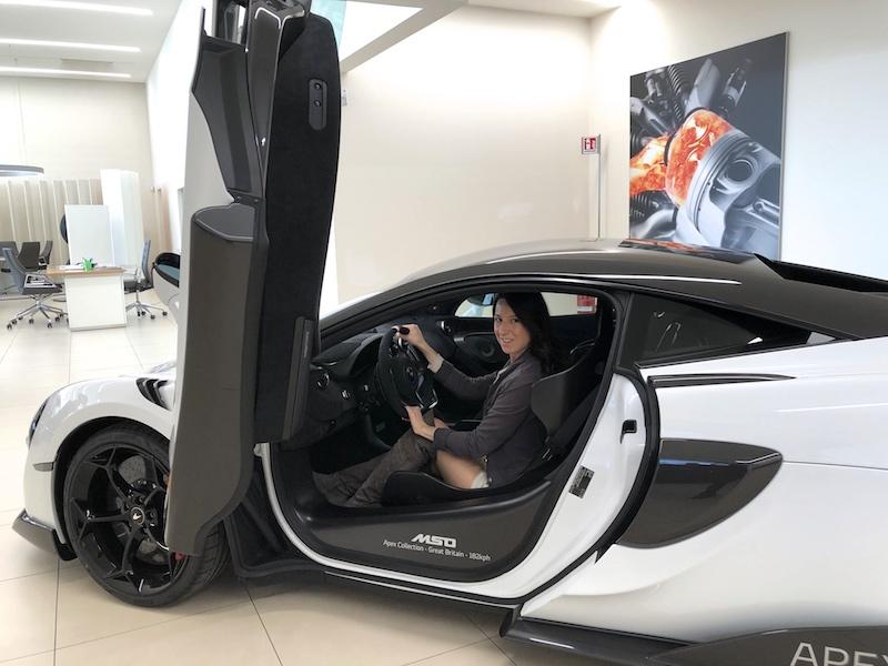 Dolcissimame e McLaren Milano 01