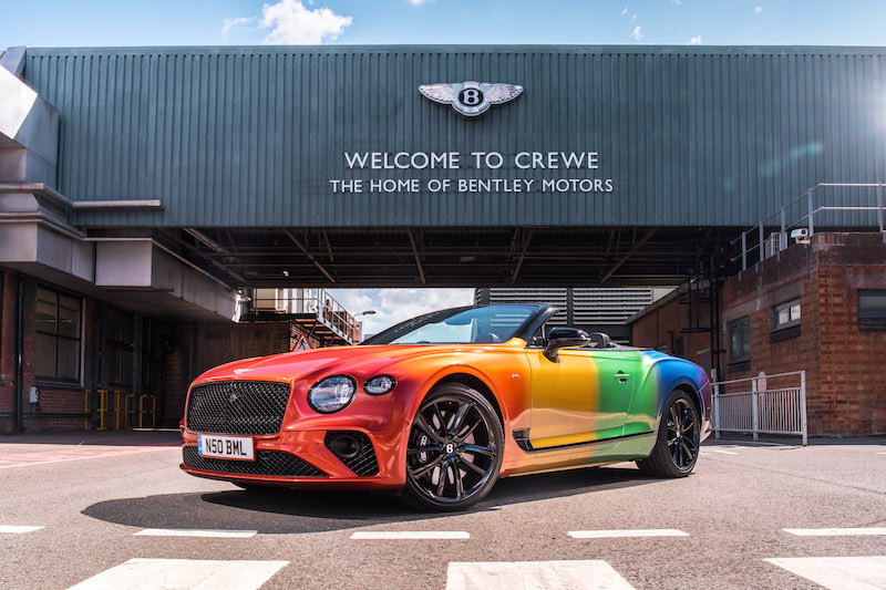 Bentley Rainbow GT 01